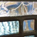 ケイム組みステンドグラスパネルの修理